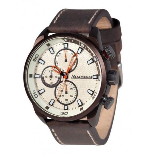 Reloj de caballero X-Plorer con caja de aluminio y esfera marrón - 1