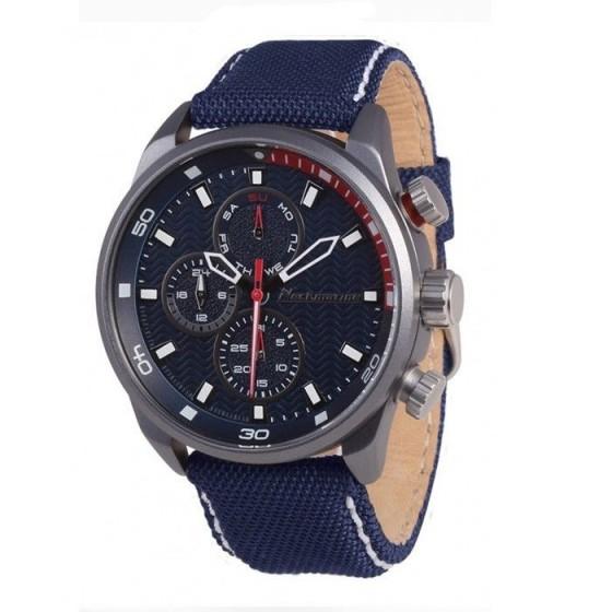 Reloj de caballero X-Plorer con caja de aluminio y esfera azul - 1
