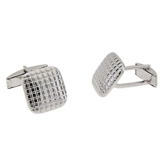 Gemelos cuadrados en plata - 1