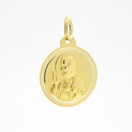 Escapulario de oro (14 mm) - 1