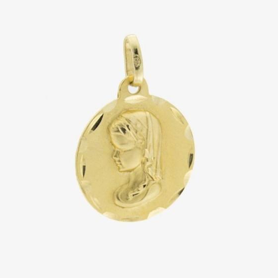 Medalla de la virgen niña - 1