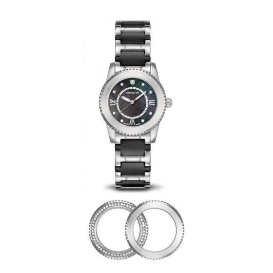 Reloj para mujer Swapper Negro - 1