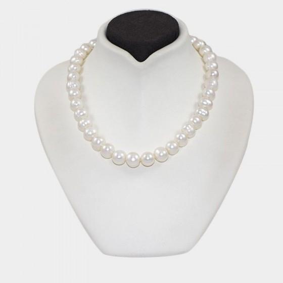 Collar de perlas cultivadas de 10 - 12 mm - 1
