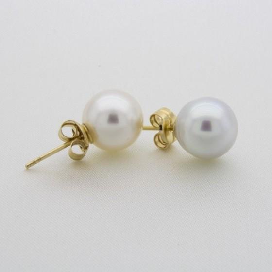 Pendientes de perlas de 11,5mm - 1