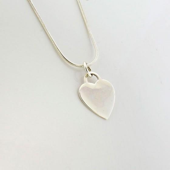 Colgante corazón liso - 1
