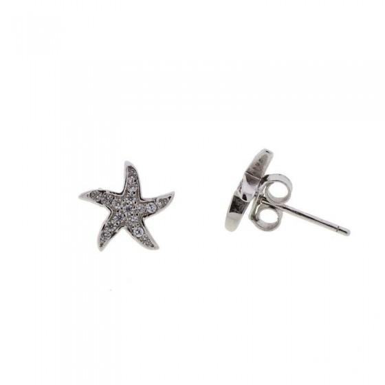 Pendientes estrella de mar - 1