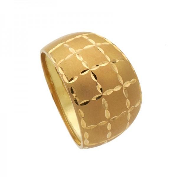 198b16308605 Sortijas para mujer en oro liso de 18k
