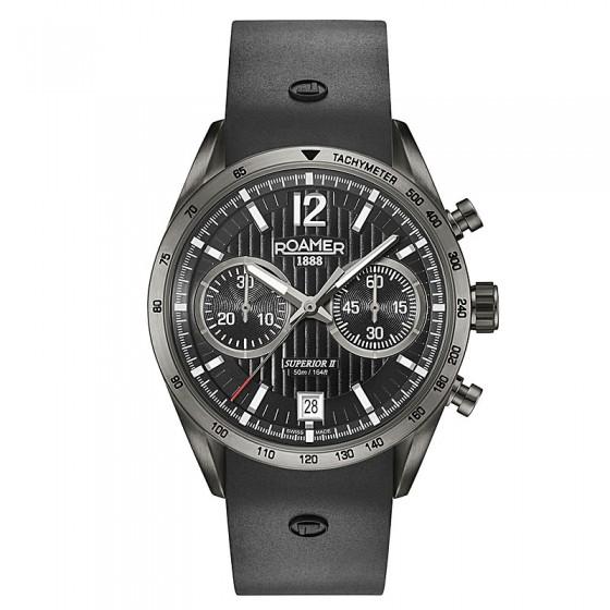 Reloj Roamer Superior Chrono II - 510902 45 54 05 - 1