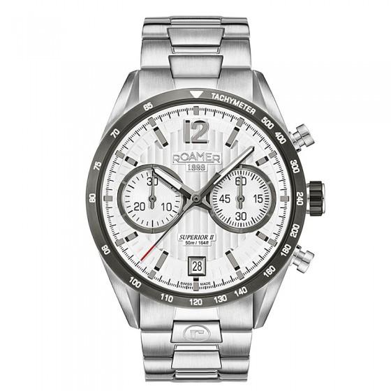 Reloj Roamer Superior Chrono II - 510902 41 14 50 - 1