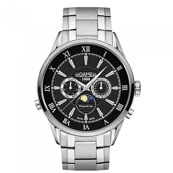 Reloj Roamer Superior Moonphase - 508821 41 53 50 - 1