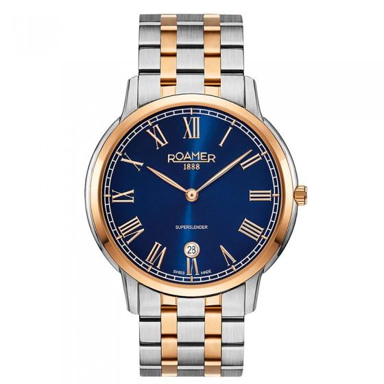 Reloj Roamer Superslender - 515810 49 42 50 - 1